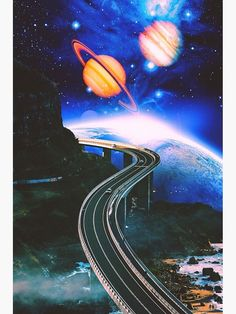 New Road Art Print