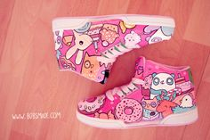 Candy sneaker by bobsmade.com