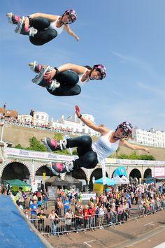 Stunt female skater www.streets-united.com