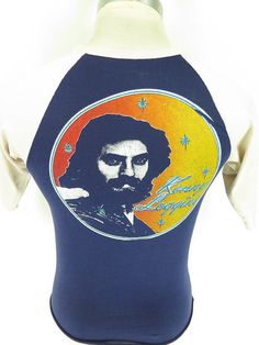 Vtg 80s Kenny Loggins Cotton Short Sleeve by TheClothingVault