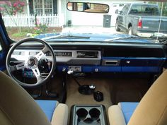 international scout 2 interior - Google Search