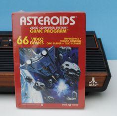 Asteroids Atari 2600 Game