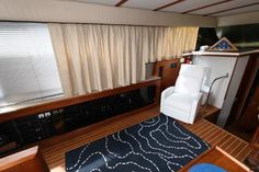 Used 1986 Carver 4207 Aft Cabin Motoryacht, 21220 Middle River - Boat Trader Middle River, Heat Exchanger, Yacht For Sale, Power Boats, Teak, The Unit, Cabin, Flooring, Curtains