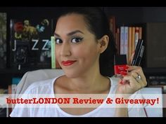 Domesticated Me: butterLONDON Review & Giveaway