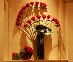 wired longstem roses design