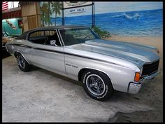 I want to paint a beach scene in my garage. 1972 Chevrolet Chevelle
