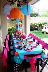 Love the party themes/ideas on this site!