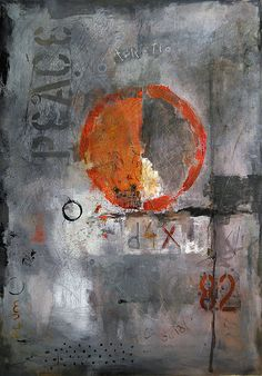 Emanuel Ologeanu -  PEACE Original Abstract painting
