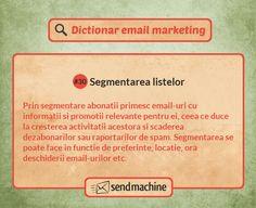 Dictionar email marketing: Segmentarea listelor