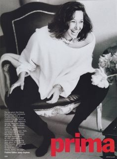 Donna Karan Photographed by Arthur Elgort, Vogue, 1989   Iconic Female Designers Throughout the Years in Vogue