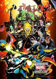Ultimate Marvel vs. Capcom 3.