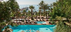 Marbella has a certain image as a gaudy seaside hotspot for lobster-red British tourists. But Mark Palmer finds a chic side to the city, and the footsteps of Brigitte Bardot, at the Marbella Club resort. Marbella Beach Club, Hotel Marbella, Tikal, Ushuaia, Ibiza, Spa Luxe, Places In Spain, Best Spa, Hotel Pool