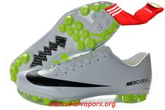 Nike Mercurial Vapor IX AG Cleats 2013 - White Black