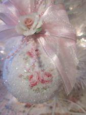 Victorian Rose Ornament.