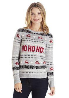 F&F Ho Ho Ho Christmas Jumper