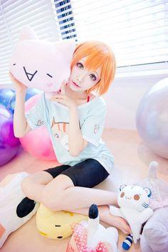 Char : Rin Hoshizora  Anime : Love Live! Coser : Mon