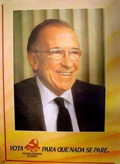 Cartel del PCE para las elecciones generales de 1982