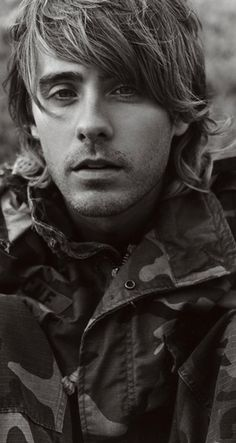 Jared Leto - camo jacket