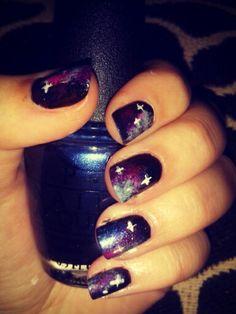 #Galaxy #nail