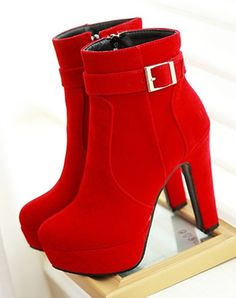 Ankle Boots With Zipper
