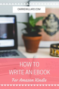 How to write and publish an ebook for Amazon Kindle. Got a great idea? Get it into the Amazon marketplace and start earning money from your ebook! Here is a simple tutorial.