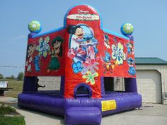 19 best backyard bounce inflatables images church events company rh pinterest com