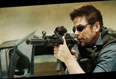 Benicio Del Toro co-stars in Sicario, a thriller directed by Canada's Denis Villeneuve about the Mexican drug war, also starring Emily Blunt and Josh Brolin, that will compete for the Palme d'Or at the Cannes Film Festival. Action Movies 2016, 2015 Movies, Latest Movies, Hd Movies, Movies Online, Movie Tv, Netflix Online, Movies Free, Cinema Movies