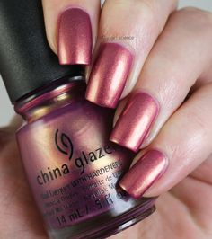 Pretty Girl Science: China Glaze Awakening