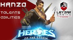 Heroes of the Storm (Hero Preview) - Hanzo Talents & Abilities (HotS Han...