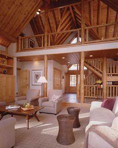 Custom Cedar Log Homes  #fasttrakinc #home #inspiration