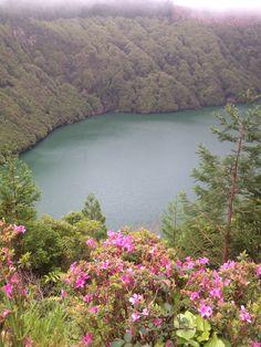 Lagoa de Santiago - Sao Miguel - Azoren
