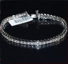 """2.25 Karat Diamanten Tennisarmband """"SI/G"""" Statt 1499.00 Euro für nur 1299.00 Euro! (Gutscheincode=   -200Euro)"""