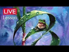 [그림강좌] -그림쉽게그리기-수채화기법-how to paint-[zazac namoo] - YouTube