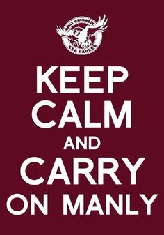 MANLY SEA EAGLES!