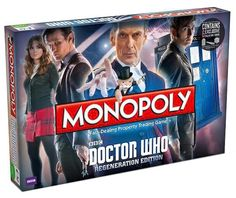 2014 Doctor Who Monopoly....NEED TO HAVE THIS