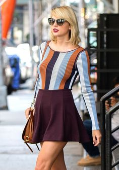 You Asked, We Found: where to get Taylor Swift's striped bodysuit & More!