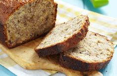 This banana bread recipe is the perfect way to make the most of the bananas that have started to go brown in the fruit bowl. You can either just slice this banana bread up and eat it as it is, or it's just as nice toasted with a little butter on it.
