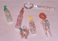 tiny little candies in plastic baby bottles etc. My Childhood Memories, Sweet Memories, Vintage Toys, Retro Vintage, Curious Cat, 90s Kids, Old Tv, My Memory, Good Old