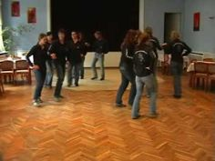 The dance is too complicated, and doesnt match up with the music, but the recording is awesome.  Make up a simpler irish dance