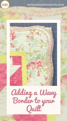 Adding a scalloped or wavy border to your next quilting project can really make it stand out from simply straight borders. Colleen Tauke walks you through how to plan out, measure, draw, cut, and sew a wavy or scalloped border. Quilting Tips, Quilting Tutorials, Machine Quilting, Quilting Projects, Block Quilt, Quilt Block Patterns, Small Quilts, Easy Quilts, Sewing Hacks