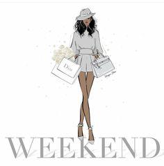 Fashion wallpaper illustration megan hess 42 Ideas for 2019 Black Girl Art, Black Women Art, Black Girl Magic, Black Art, Friday Illustration, Megan Hess Illustration, Fashion Art, Trendy Fashion, Fashion Design