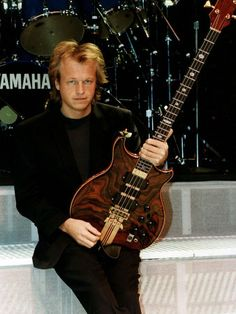 Mark King - Level 42.  My second bass playing hero...and a very nice guy.