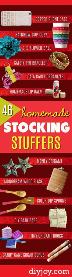 Diy crafts for kids christmas stocking stuffers 28 New ideas Diy crafts for kids christmas stocking stuffers 28 New ideas for adults diy homemade gifts Homemade Stocking Stuffers, Stocking Stuffers For Adults, Christmas Stocking Stuffers, Diy Christmas Gifts, Christmas Ideas, Origami Christmas, Crochet Christmas, Christmas Goodies, Christmas 2017