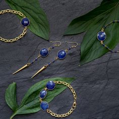 Sapphire designs by Rosehip Jewelry