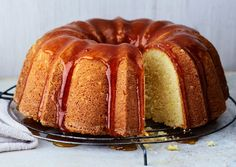 Lemon-Buttermilk Bundt Cake...might boost the lemon with lemon glaze