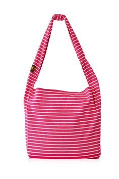 Berry Thin Stripe Large Market Tote | District West