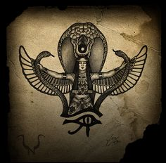 Goddess Isis tattoo inspiration <3