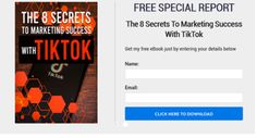 The 8 Secrets To Marketing Success With TikTok Career Development, Free Ebooks, My Ebay, The Secret, Resume, Success, Marketing, Education, Poster