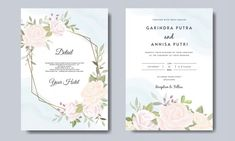 Elegant wedding invitation card with beautiful floral and leaves template , Wedding Invitation Card Template, Pink Wedding Invitations, Beautiful Wedding Invitations, Elegant Wedding Invitations, Wedding Invitation Templates, Wedding Frames, Wedding Cards, Vintage Wedding Stationery, Wedding Background