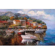 Trademark Fine Art At Sea Canvas Art by Joval, Size: 14 x 19, Multicolor